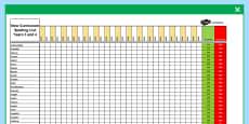 Year 3-4 Statutory Spelling Assessment Grid