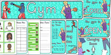 Gym Role Play Pack (Australia)