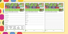 George's Marvellous Recipe Differentiated Activity Sheet Pack