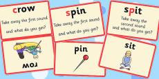 Splitting Blends Matching Cards (Set 1)