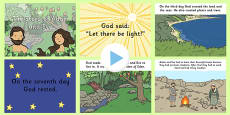 Adam and Eve Story PowerPoint