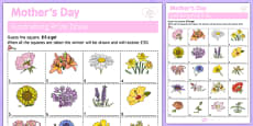 Elderly Care Mother's Day Fundraising Sheet