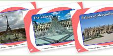Paris Tourist Attraction Posters