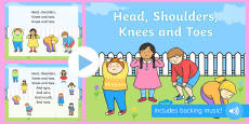 Head Shoulders Knees and Toes PowerPoint