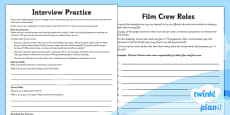 PlanIt - Computing Year 6 - Film-Making Unit Home Learning Tasks
