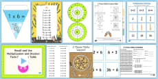 6 Times Table Resource Pack