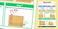 Making Levers and Linkages: Waving Hand Activity Sheet