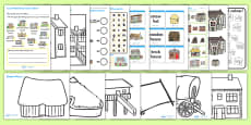 Houses and Homes Activity Pack
