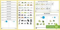 Workstation Pack: Big and Small Activity Pack