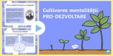Mentalitate pro dezvoltare PowerPoint
