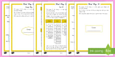 Inquiry Mind Map It! Student Planning Activity Sheets