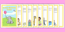 Baby Milestone Booklet