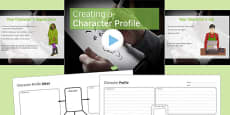Creating a Character Profile PowerPoint Pack