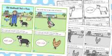 Australia - Old MacDonald Had a Farm Story Sequencing 4 Per A4