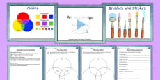 KS2 Art Painting Lesson Teaching Pack