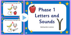 Phase One A-Z Alphabet Activity PowerPoint