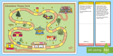 Theme Park Problem Solving Game