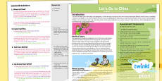 PlanIt - Geography Year 2 - Let's Go to China Planning Overview