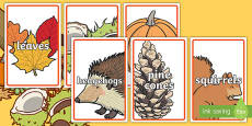 IKEA Tolsby Editable Autumn Class Group and Table Signs