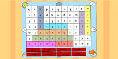 Weather Interactive Wordsearch PowerPoint