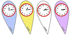 Analogue Time Fans (Quarter Past)