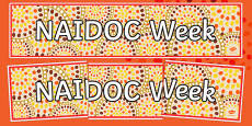 NAIDOC Week Display Banner