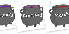 Months of the Year on Cauldron