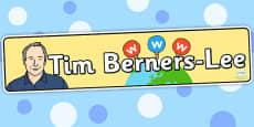 Tim Berners Lee Display Banner