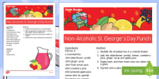 Elderly Care St George's Day Non-Alcoholic Drink Recipe