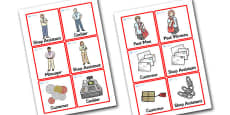 Jolly Post Office Role Play Badges to Support Teaching on the Jolly Postman