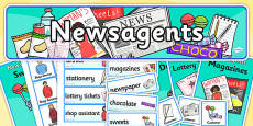 News Agents Role Play Pack