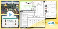 PlanIt Y1 SPaG Lesson Pack: The Prefix un