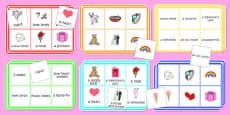 Adult Education Valentine's Day Bingo