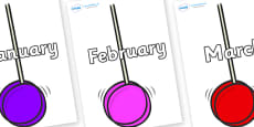 Months of the Year on Yoyo