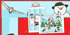Display Border to Support Teaching on The Snowman