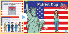 * NEW * Patriot Day PowerPoint