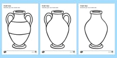 Greek Vase Design Sheet