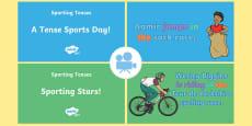 Spag-tastic! Sporting Tenses Video Pack