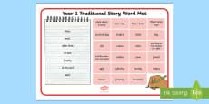 Year 1 Traditonal Story Word Mat
