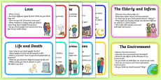 PSHCE Topic Discussion Prompt Cards