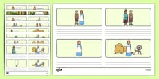 Rumpelstiltskin Storyboard Template