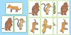 The Gruffalo High Frequency Words