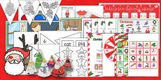 K1 Christmas Activity Pack USA