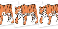 100 High Frequency Words on Chinese New Year Tiger