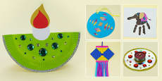 EYFS Diwali Craft Activities With Accompanying Planning Pack