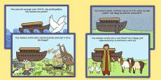 Noahs Ark Role Play Challenge Cards Polish