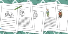 The Wind in the Willows Writing Frames