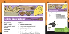 Edible Broomstick Recipe