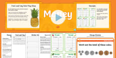 CfE First Level Money Activity Station Lesson Pack