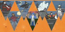Halloween Party Bunting